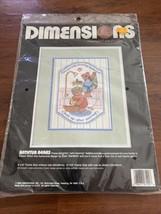 Dimensions Cross Stitch 1982 Kit Bathtub Bears #3100 - $6.79