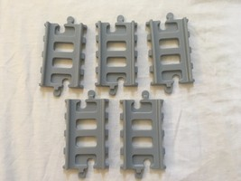 Little Tikes Peak Mountain Roadway 5 straight gray tracks lot replacemen... - $7.99