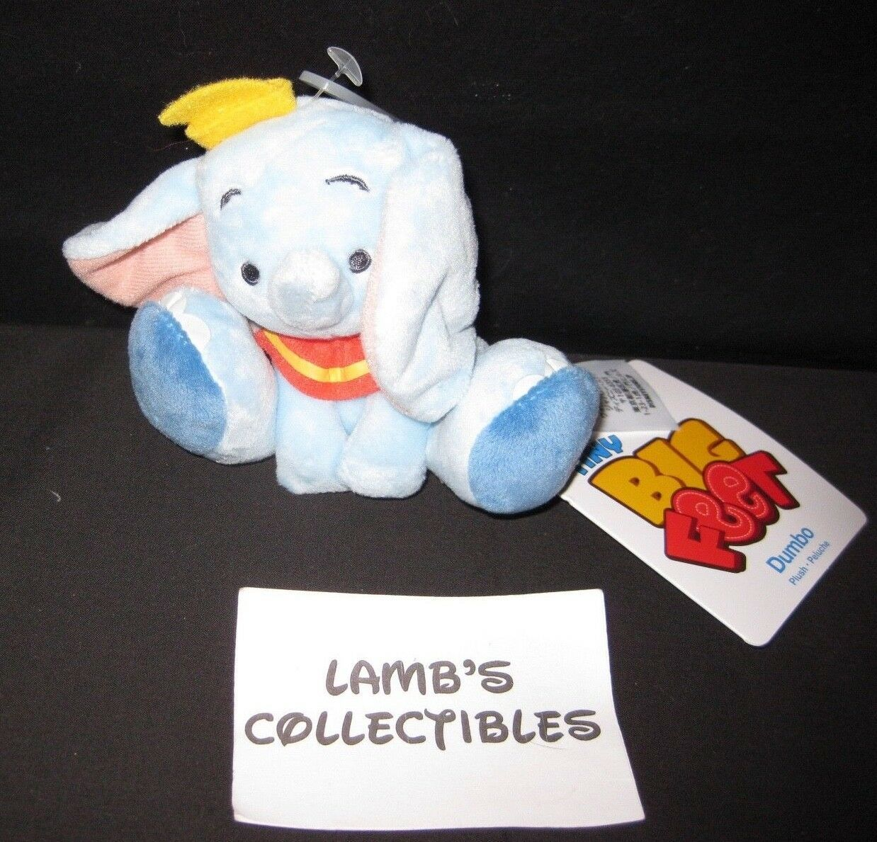 Primary image for Disney Store USA Tiny Big feet Dumbo micro plush toy 4""