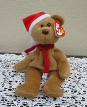 Ty Beanie Baby 1997 Holiday Teddy 4th Generation NEW - $12.86