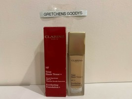 Clarins Everlasting Foundation + #107 Beige SPF 15 NIB 1.1 oz - $30.68