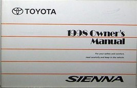 1998 Toyota Sienna Owners Manual New Old Stock - $38.00