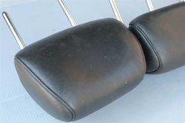 09-14 Nissan Murano Rear Back Black Leather Headrests Headrest Set of 3 image 8