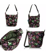 NWT Vera Bradley Carson Hobo Shoulder Crossbody Bag in Winter Berry #180... - $84.15
