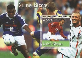Soccer Championship Souvenir Sheet Mint NH - $16.25