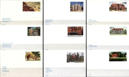 9 USA Postal Card Covers with Postage USPS Collection MINT - $7.87