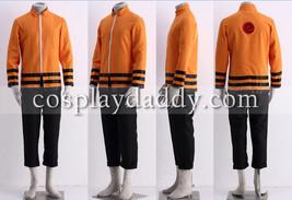 Naruto Uzumaki Naruto Halloween 10th Set Cosplay Costume - $47.17