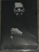 Clear file Marilyn Manson - $25.00