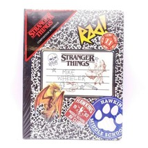 Official Netflix Stranger Things Mike Wheeler Composition Notebook New - $14.69