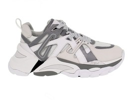 Sneakers ASH FLASH in pelle e tessuto bianco e grigio - Scarpe Donna - $296.87