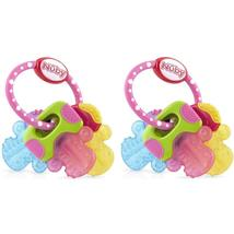 Nuby Ice Gel Teether Keys (2 Pack Pink) - $24.99