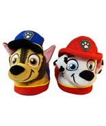 PAW PATROL CHASE & MARSHALL Rubber Bottom Slippers Sizes 5/6, 7/8, 9/10 ... - $11.87+