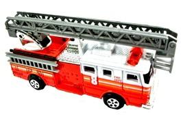 Red Fire Engine Ladder Truck Die Cast Metal Collectible Pencil Sharpener - $6.90