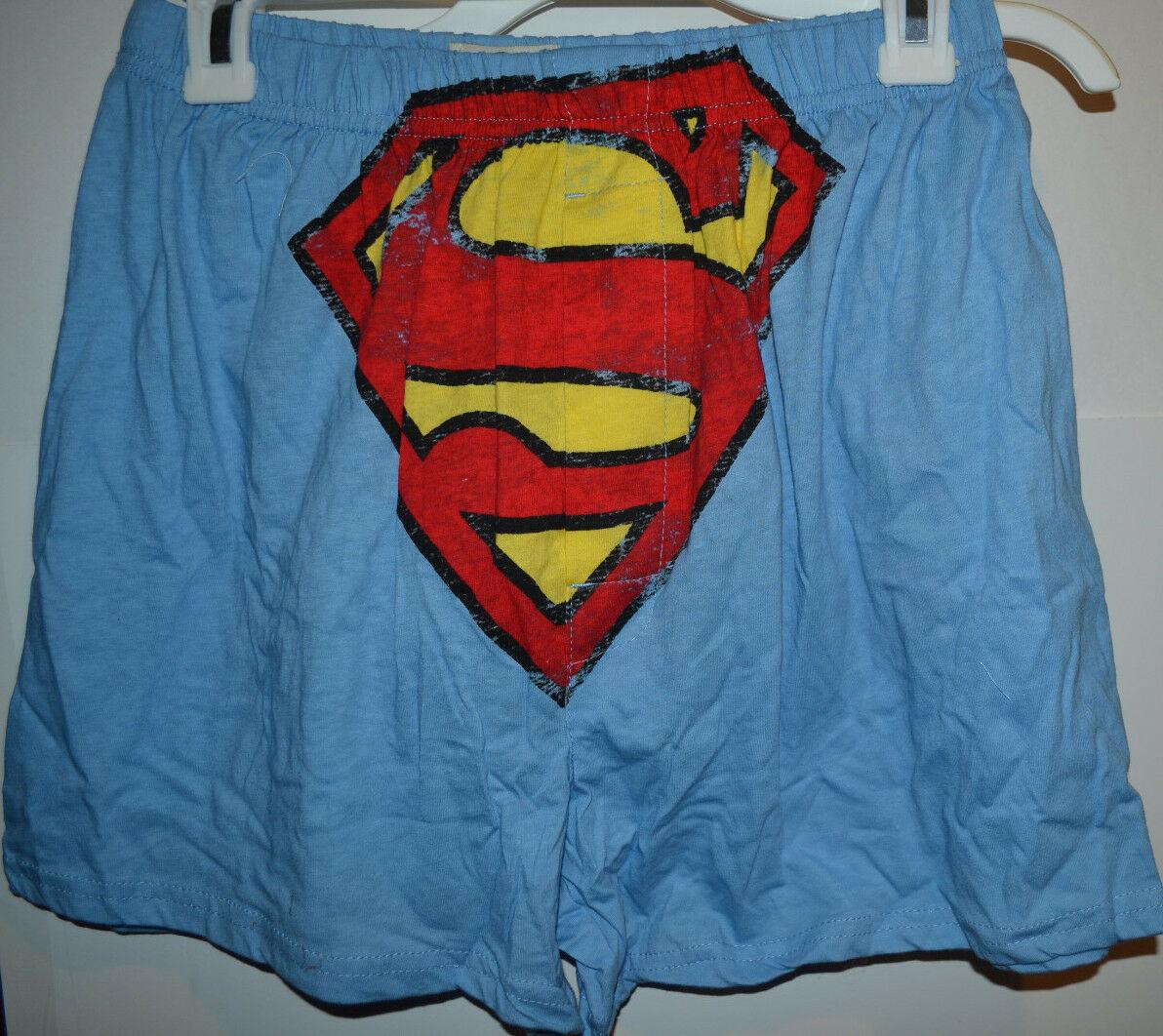 DC Comic Superman  BOXER W/ GIFT BAG  SIZE S 28-30 XL40-42  NWT - $8.99