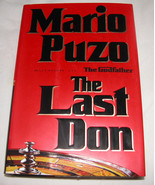 The Last Don di Mario Puzo 1996,Copertina Rigida,Sinister Crimine, U.S.A - $15.37