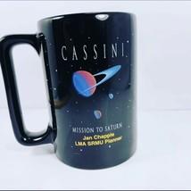 Vintage  Huygens Mission To Saturn Coffee Cup Mug Personal Jan Chapel LM... - $49.49