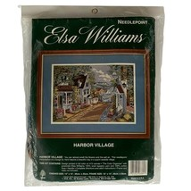 Elsa Williams Needlepoint Kit 06381 Harbor Village Seaside SEALED - $29.69
