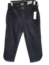 NWT Not Your Daughter's Jeans Women's Cropped Denim Jeans M10B81T Size 2 - $59.39