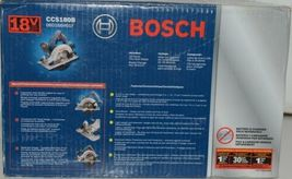 BOSCH CCS180B Circular Saw 18V with Thin Kerf Blade and Hex Wrench Pkg 1 image 3
