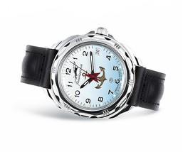 VOSTOK KOMANDIRSKIE. Men`s Russian solder military mechanical watch. 211084 - $26.50
