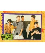 New Kids on the Block trading card NKOTB Jonathan Knight Jordan Knight J... - $4.00
