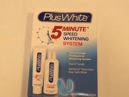 Plus White 5 Minute Speed Whitening System Enamel Friendly full coverage... - $15.24