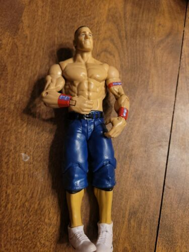 Primary image for WWE John Cena Figure Mattel Basic Battle Pack WWF WCW