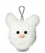 Bath & Body Works White Bunny Pom NEW PB HOLDER ONLY with Clip Free Ship... - $18.65