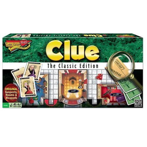Primary image for CLUE THE CLASSIC EDITION BOARD GAME