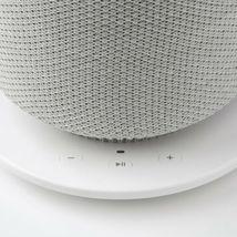 SYMFONISK Table lamp with WiFi speaker, white image 6