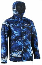 Huk Men's CYA Camo Packable Rain Jacket Breathable & Wind Resistant Perf... - $79.95
