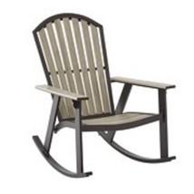 Rocking Chair Steel Plastic Outdoor Patio Yard Home Comfort Seater Furni... - $114.29