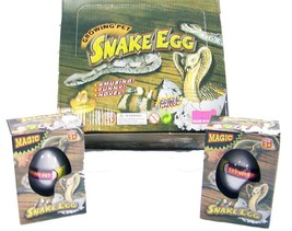 2 SNAKE WATCH THEM HATCH AND GROW EGGS novelty growing  JUST ADD WATER m... - $6.27