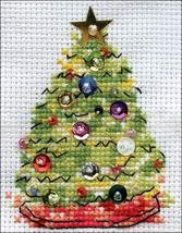 """Design Works Counted Cross Stitch Kit 2""""X3""""-Christmas Tree (14 Count) - $9.32"""