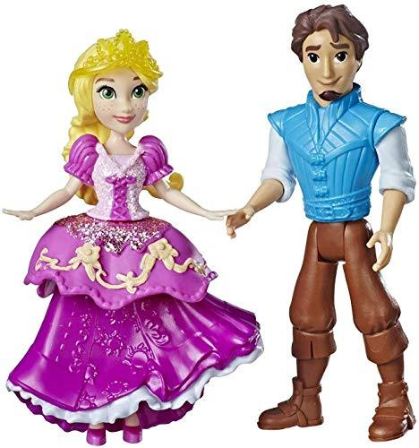 Primary image for Disney Princess Rapunzel & Eugene Fitzherbert, 2 Dolls, Royal Clips Fashion, One