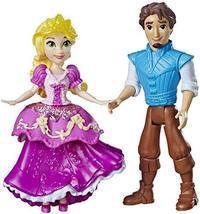 Disney Princess Rapunzel & Eugene Fitzherbert, 2 Dolls, Royal Clips Fash... - $8.86