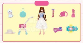Mimi World Mimi and Shushu Let's go to The Park Figure Toy Doll Rollplay Playset image 2