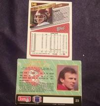 Joe Montana - QB Football Trading Cards AA-19FTC3010 Vintage image 2