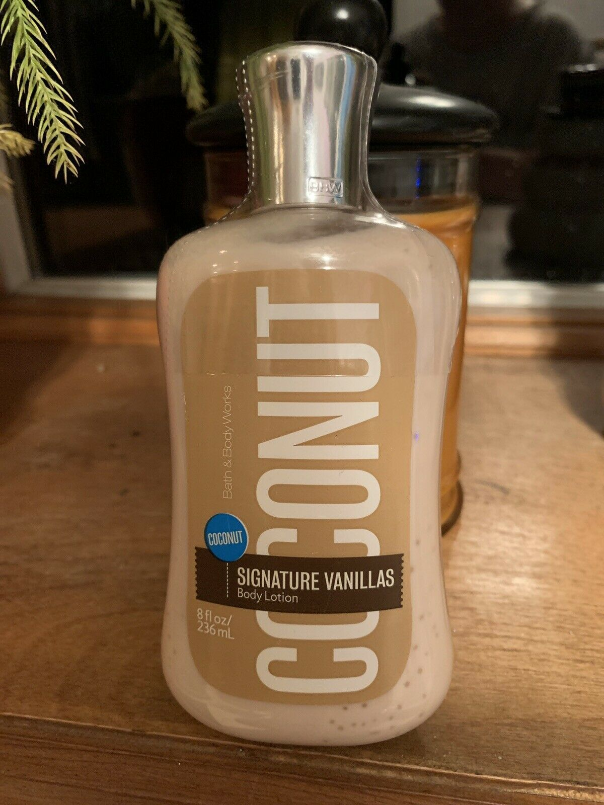 Primary image for Bath & Body Works Signature Vanillas Coconut Body Lotion New LARGE SIZE RARE