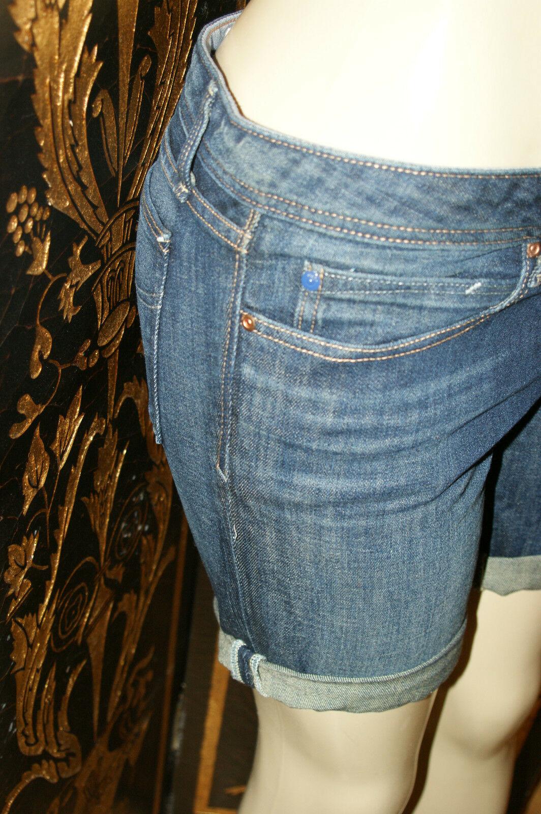 Gap 1969 Women's Stretch Denim Short jeans blue pants size 28