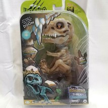 Fingerlings Untamed DOOM Bonehead T-Rex Glow in the Dark Dinosaur 40+Sounds NIB - $14.99