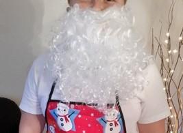 Santa Beard Elasticated - Christmas Fancy Dress - Xmas Prop - White Beard - $2.54