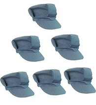 Adjustable Train Engineer Hats - Train Engineer Costume Hats 6 Pack - $29.87