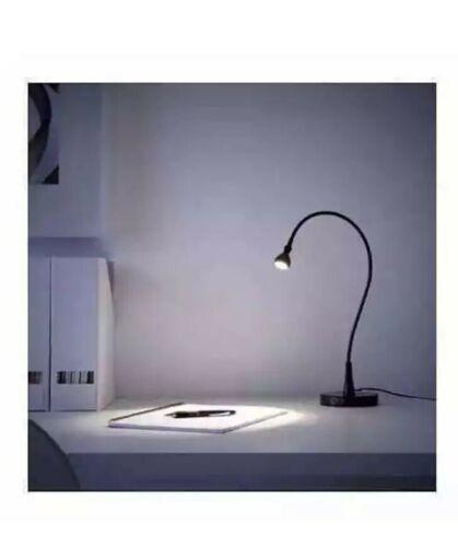IKEA JANSJÖ Super-flexible Work Lamp Built-in LED Light, Black, 003.859.41 - NEW