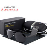 HDCRAFTER HDABS Unisex Sunglasses Pilot Polarized Sunglasses - $19.98