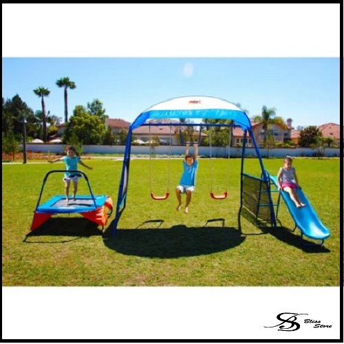 Trampoline Parts Center Coupon Code: Swing Set Trampoline Canopy Shade Playground Play Swingset