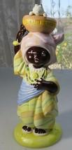 Vintage handpainted porcelain figurine The U.N. children Diodu from Nige... - $20.00