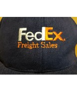 FedEx Freight Systems Embroidered Blue Wool Blend Snapback Hat Cap by N... - $19.01