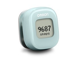 OMRON ALVITA WIRELESS ACTIVITY TRACKER ~ LIGHT BLUE ~ APP CONNECTIVITY - $14.99