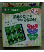 BRAND NEW IN BOX Sew Fun Make Your Own Cover Kit, For Book or eReader BR... - $14.84